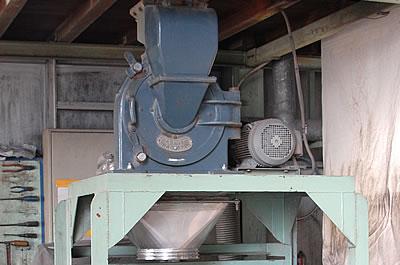 粉体の解砕混合するデシンター